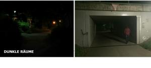 dunkle Räume